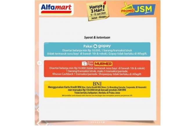 Promo JSM Alfamart 11-13 Juni 2021